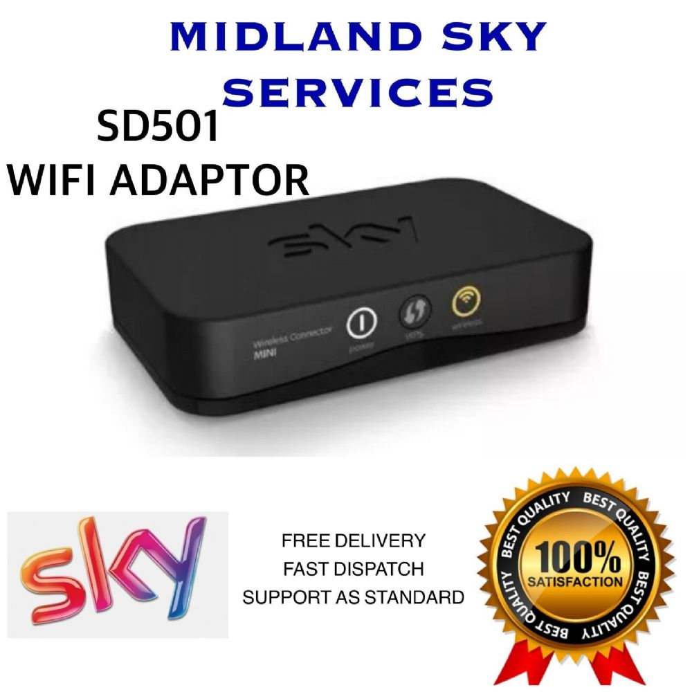 SD501 SKY HD WIRELESS WiFi MINI USB ADAPTER FOR ANYTIME TV ON DEMAND